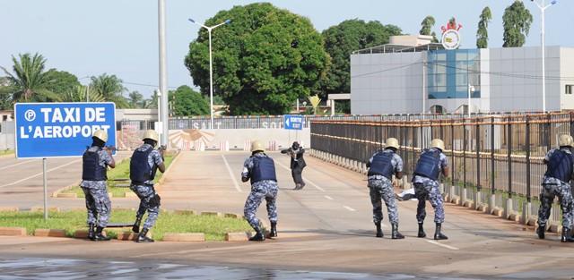 l'Aéroport international Gnassingbé Eyadèma test son plan d'urgence  sectoriel – Togo-Presse